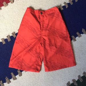 Appaman boys size 7 red swimsuit NWOTS